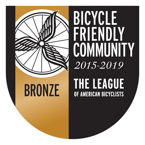 Bronze Level Bicycle Friendly Community