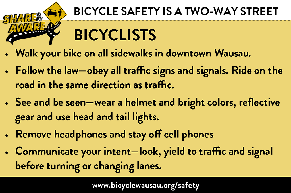 Bicycle Safety - Bicyclists