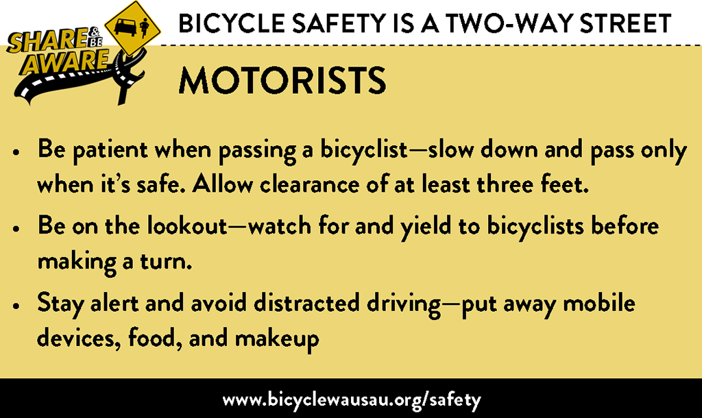 Bicycle Safety - Motorists