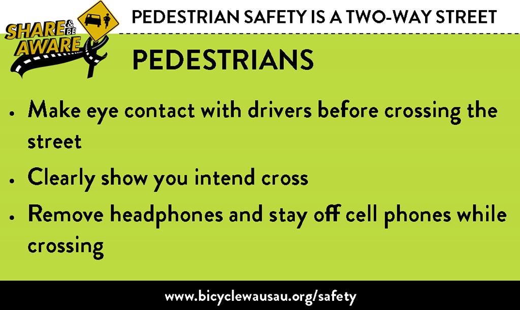 Pedestrian Safety - Pedestrians