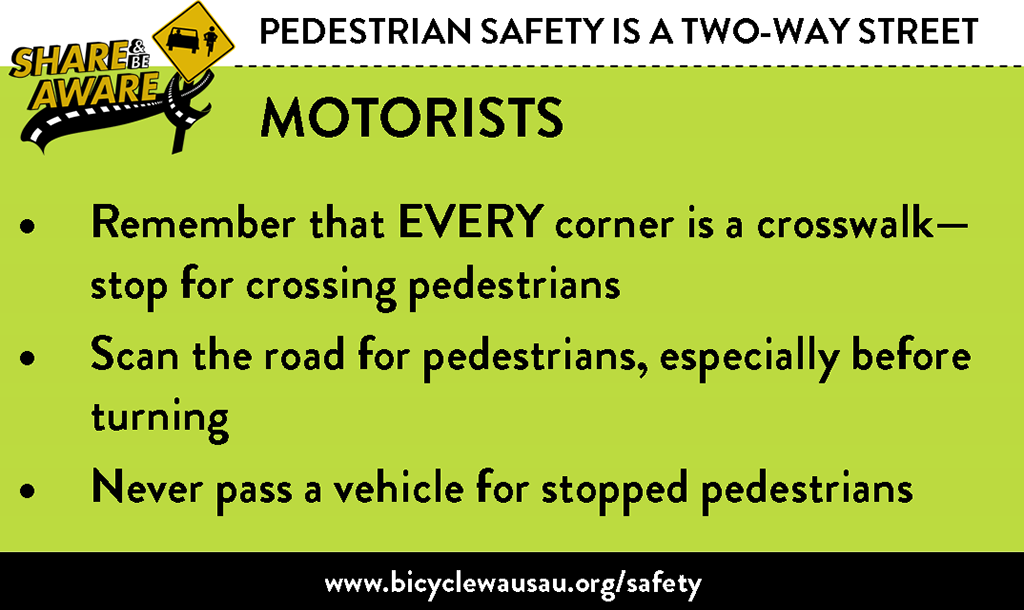 Pedestrian Safety - Motorists
