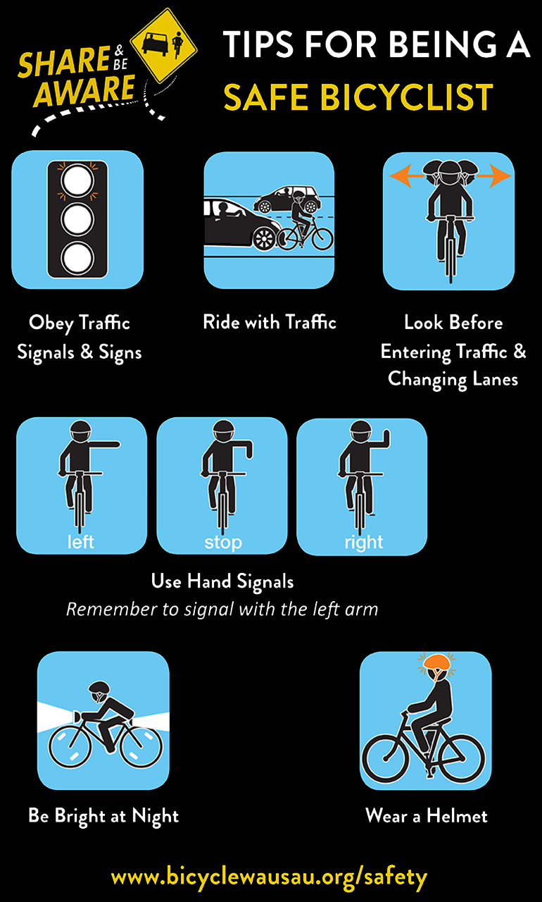 Tips for being a Safe Bicyclist